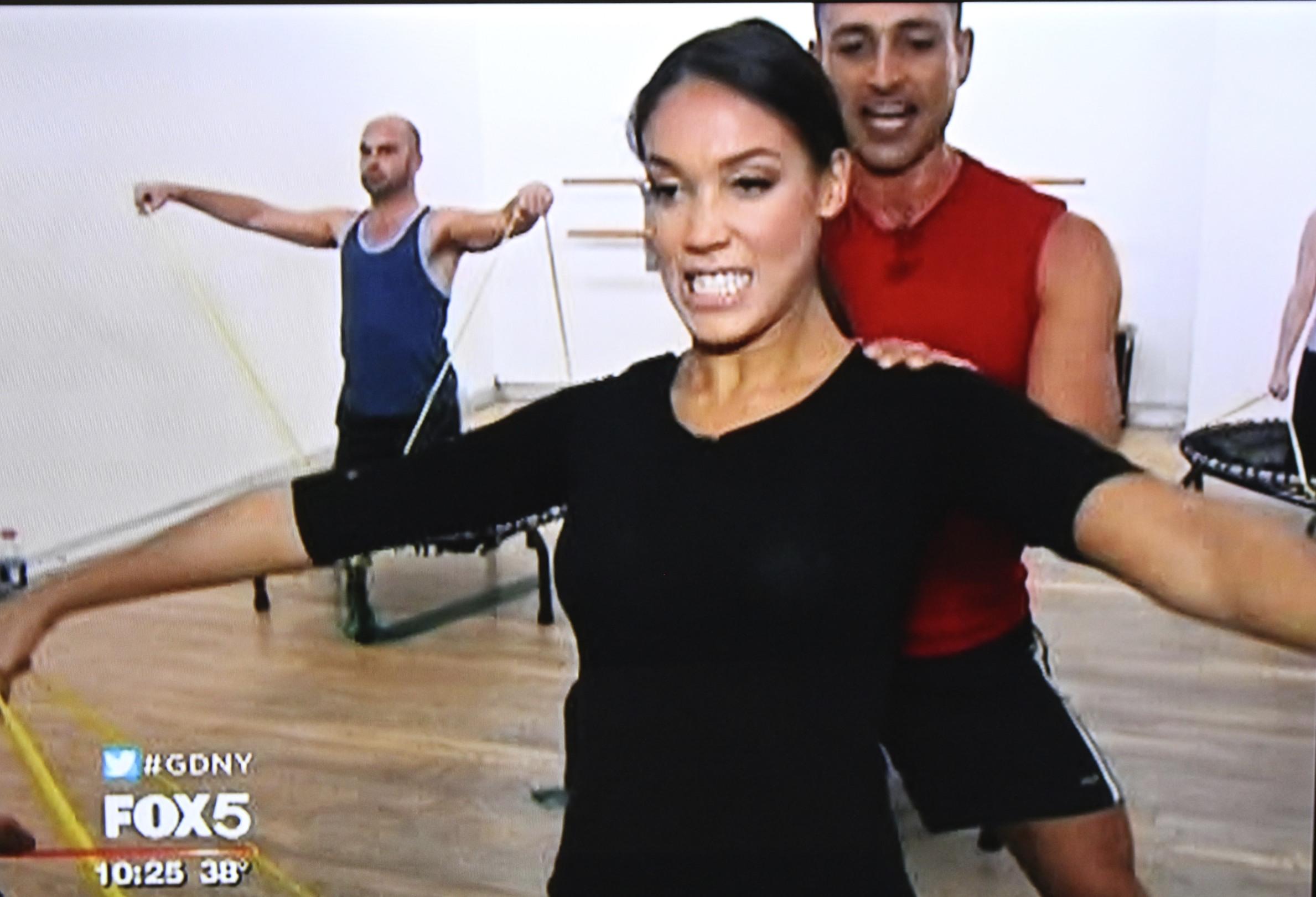 trampoLEAN on Fox 5 News