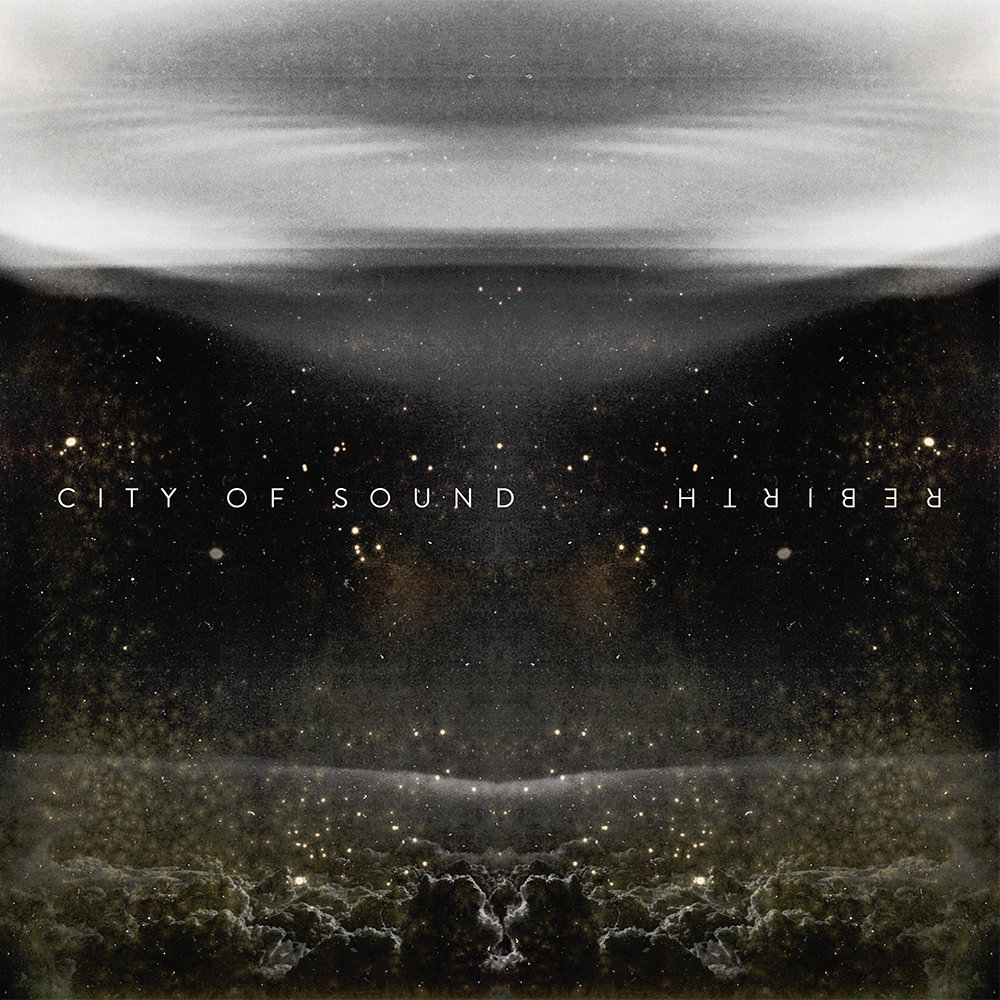 Vinyl Cover Art for City Of Sound's EP |  Rebirth |  Minneapolis MN | 2016  https://cityofsoundband.bandcamp.com/album/rebirth-ep