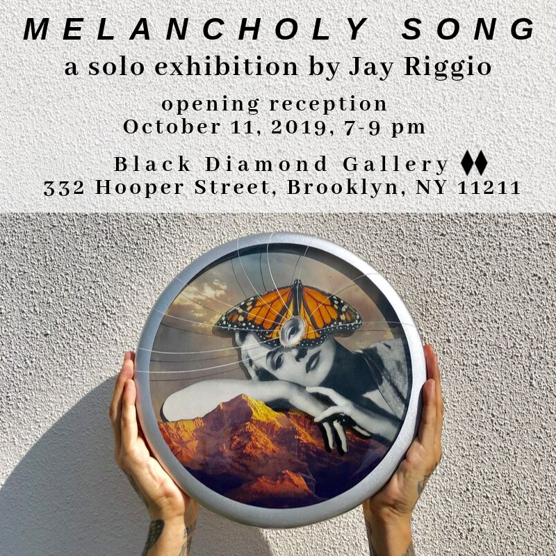 If you're in NYC - Come out and support Jay, this October 11th @ Black Diamond Gallery