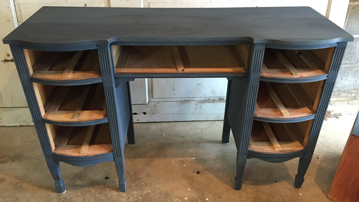This Miss Mustard Seed Artissimo furniture project is starting to look nice.