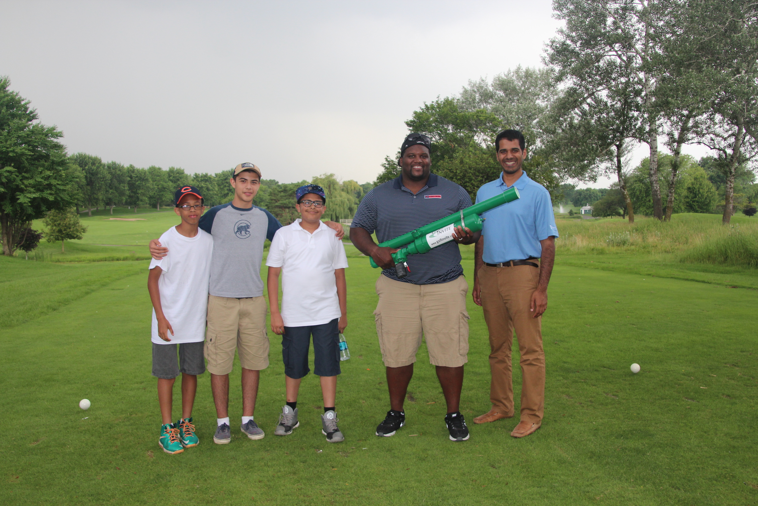 """Anthony Adams, Midtown students and """"the Launcher"""""""