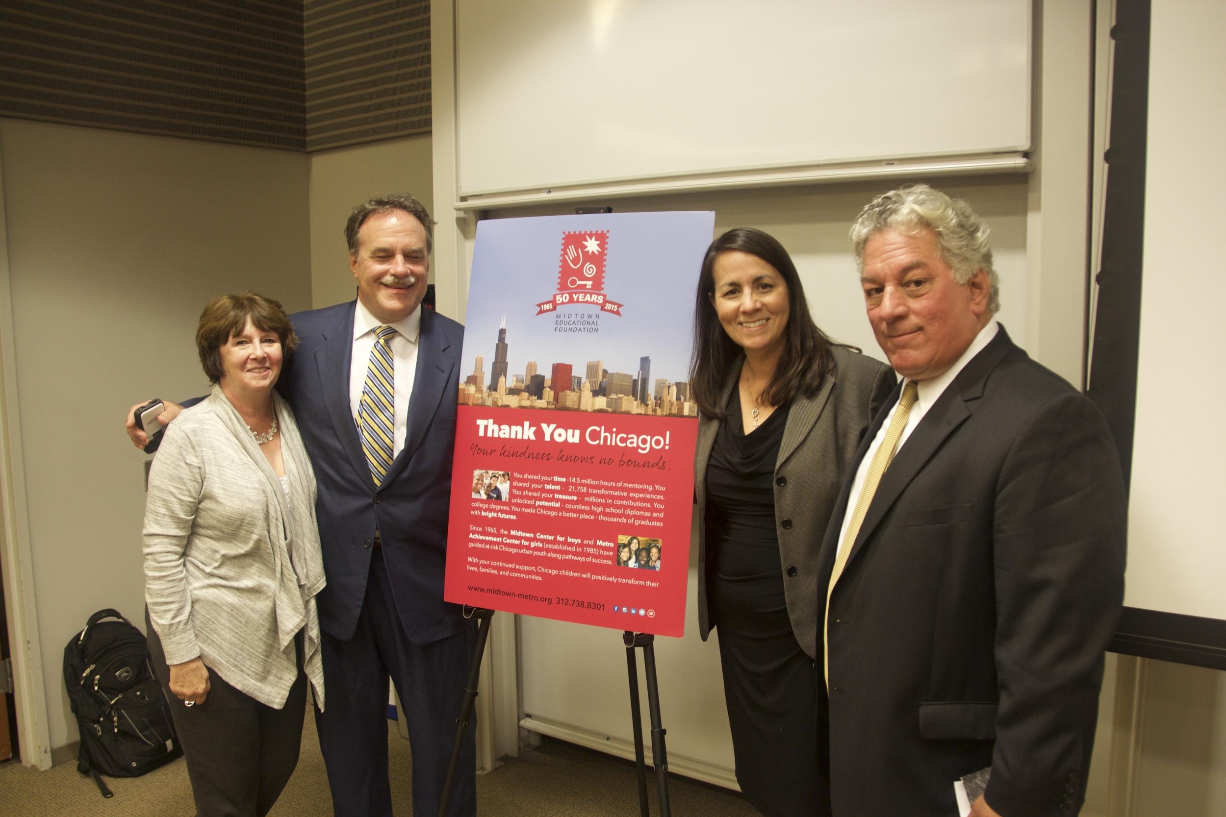 Brian Kasal, of FourStar Wealth Advisors sponsored the Breakfast