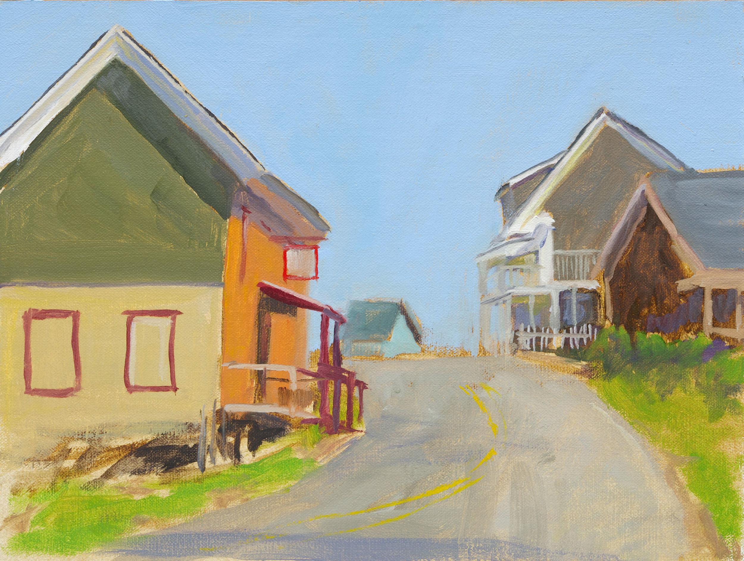 Village View: Study: Uphill