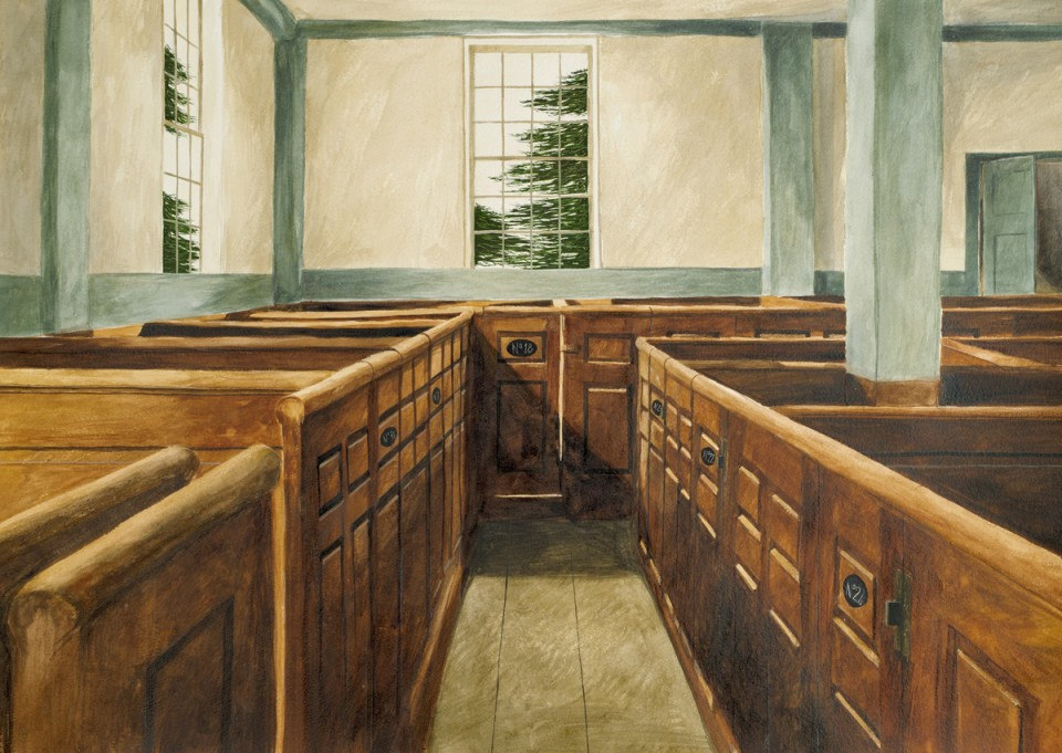Meeting House , 2012 21 x 28 inches