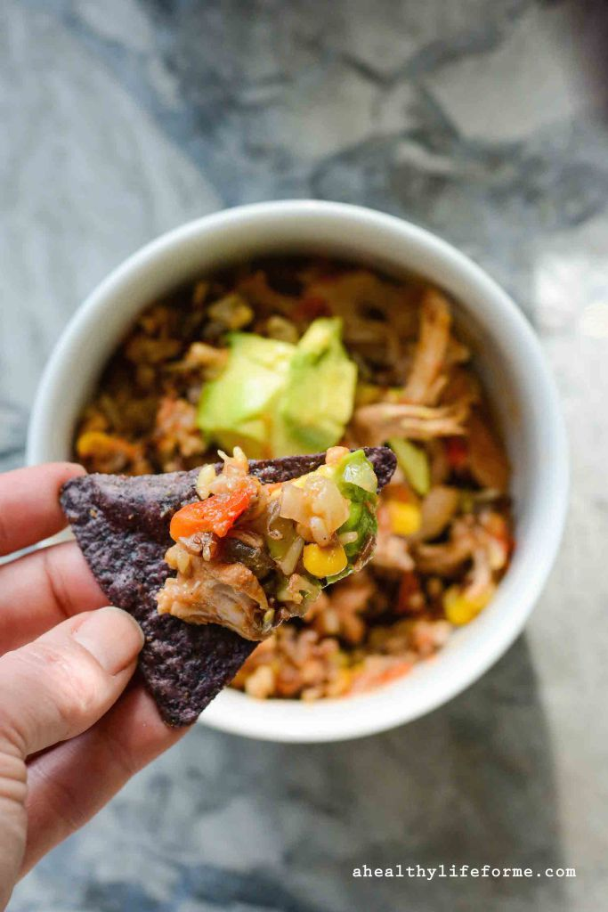 Chicken Burrito Bowl by Healthylife
