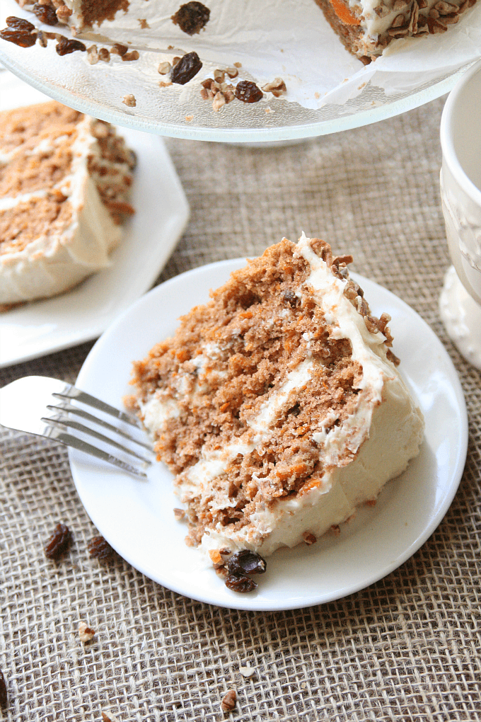 Southern Style Carrot Cake by Amyinthekitchen
