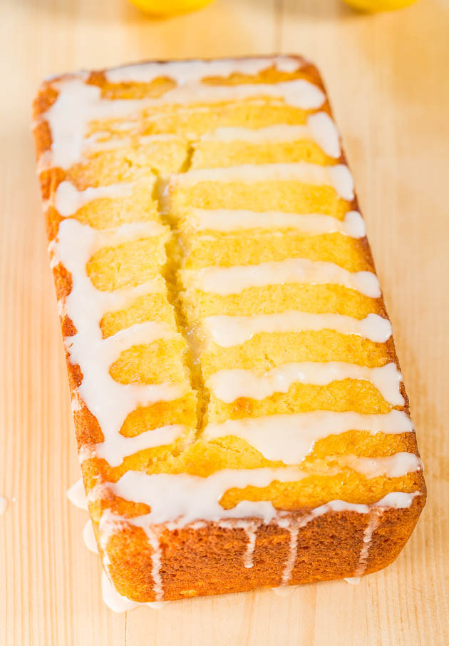 The BEST Southern Lemon Loaf by Averiecooks