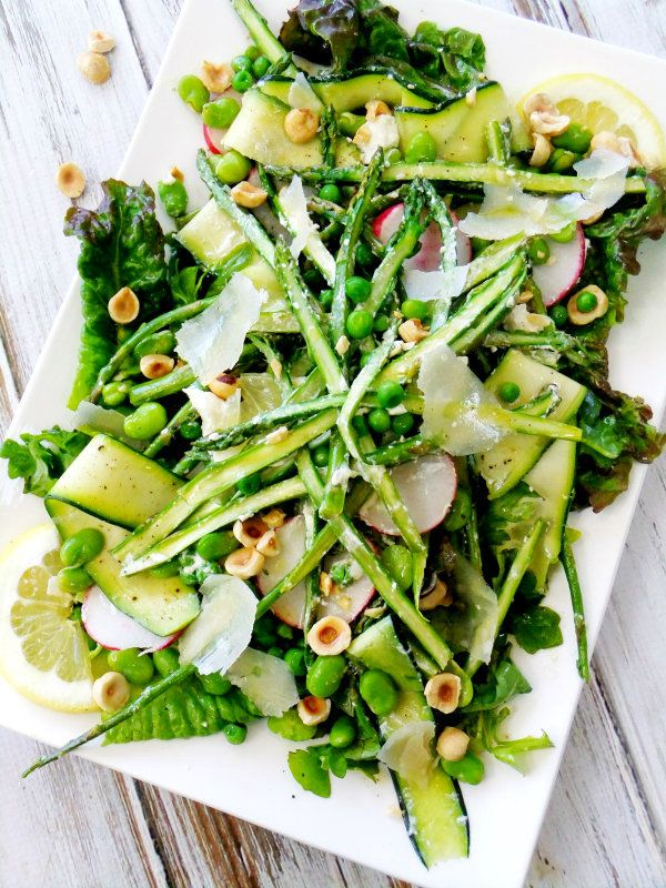 Asparagus Spring Salad by Bloglovin'