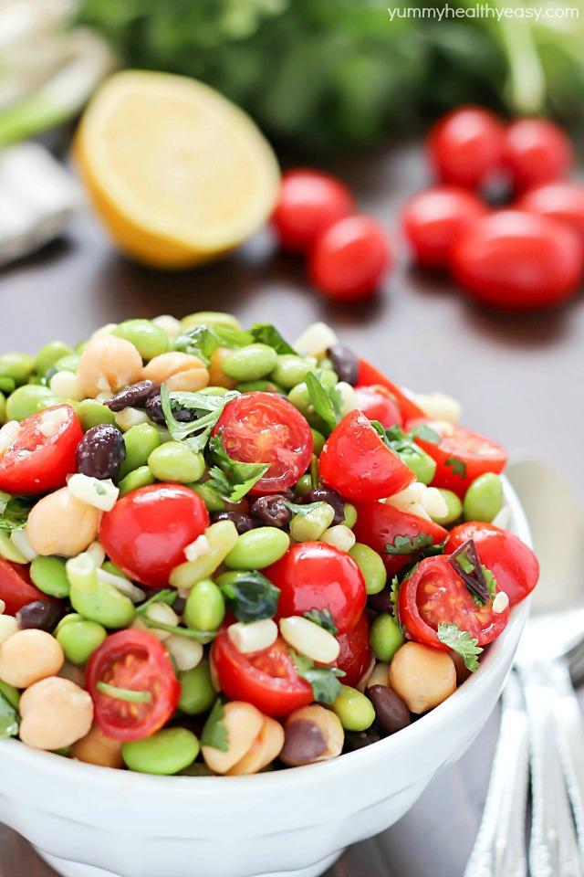 Edamame Salad by Jen