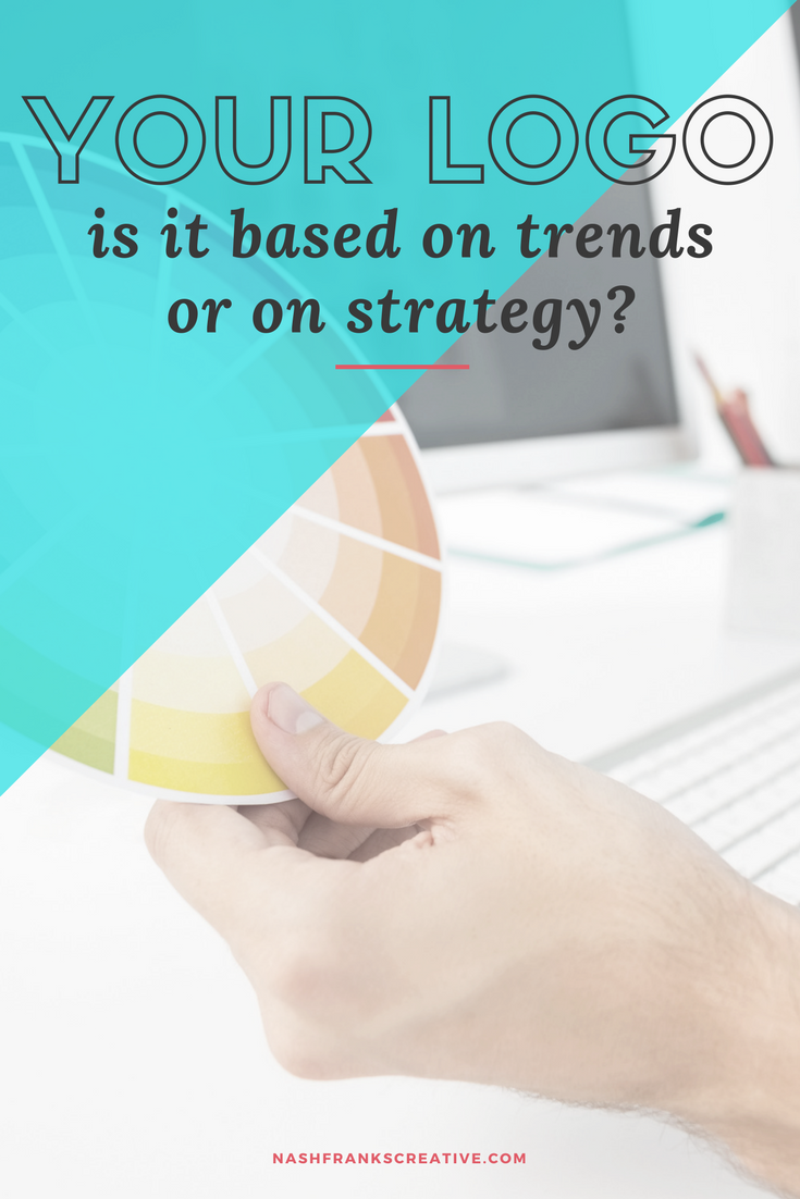 brand identities should have concept, strategy and purpose. Ask yourself these 3 questions to determine if your idea is based on trend or strategy