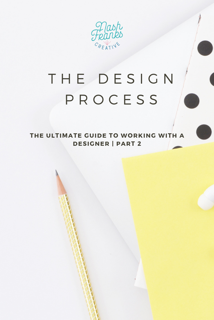 The ultimate guide to working with a designer Part 2: The Design Process. Learn how the process works after you hire your graphic or web designer