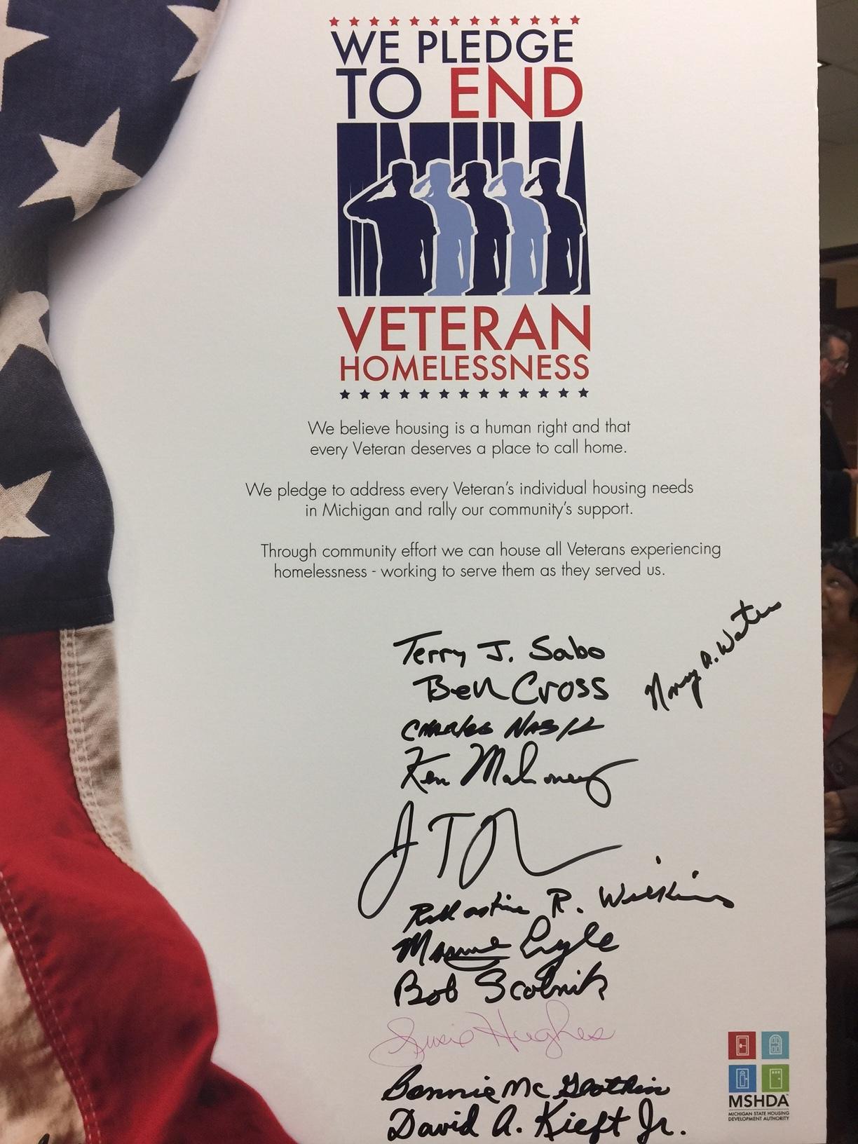 The signed Pledge.