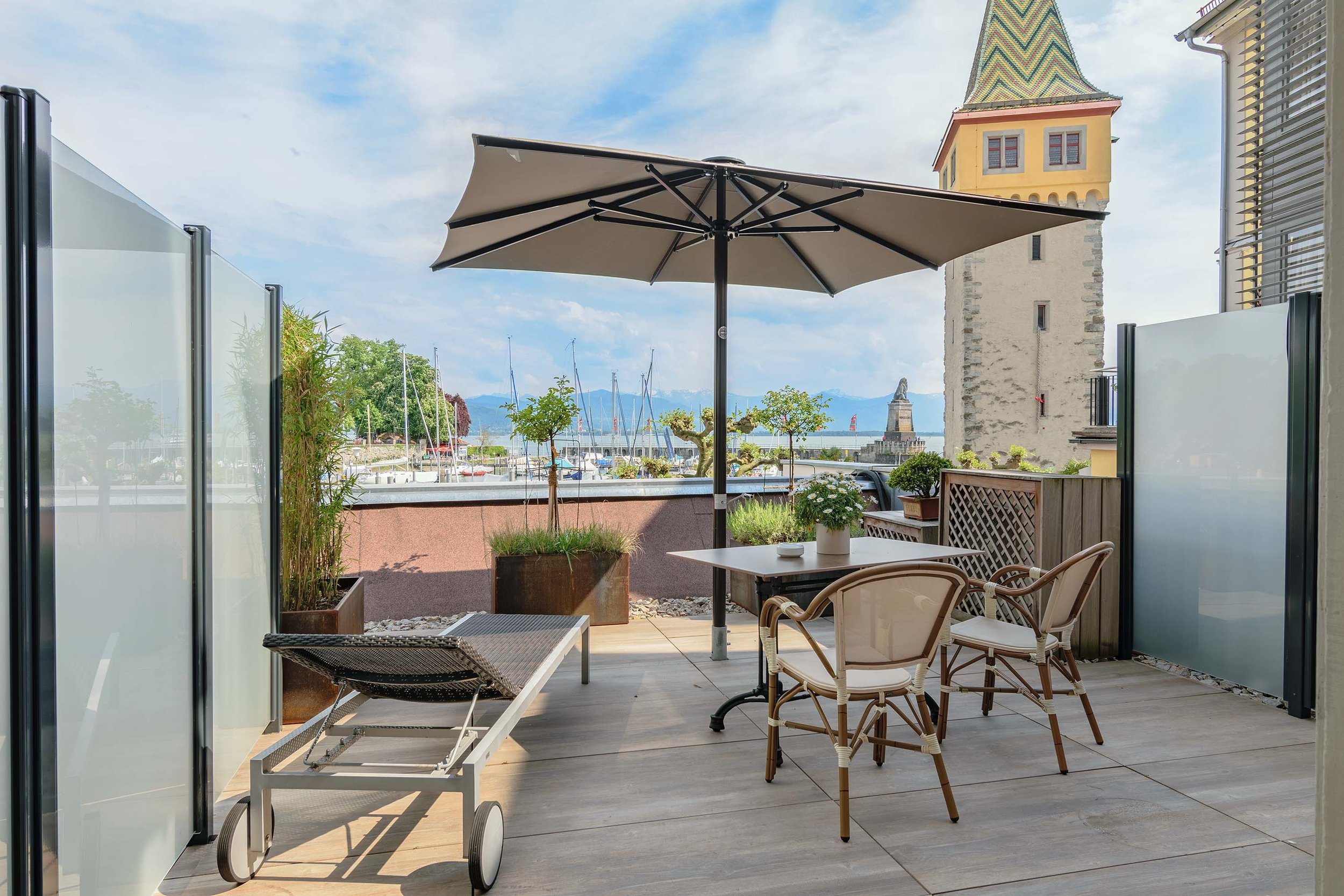 Terrassenzimmer - Lake view room terrace