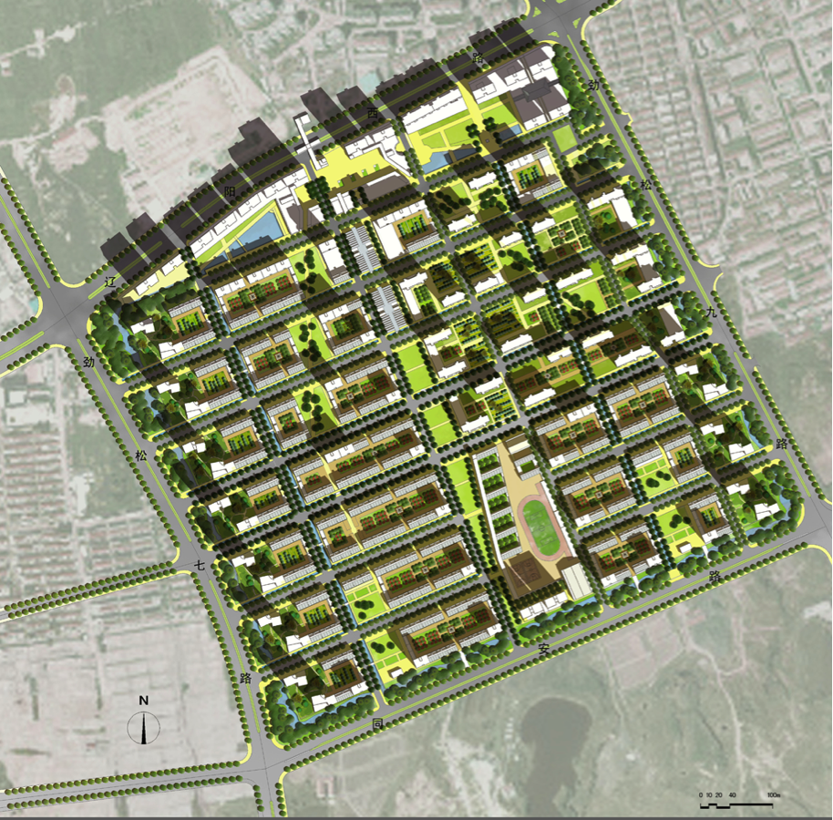 While cities are typically studied and analyzed in plan, when environmental performance to reduce the UHI becomes a design driver, the urban section becomes even more important in imagining and exploring design options. To date, many innovative