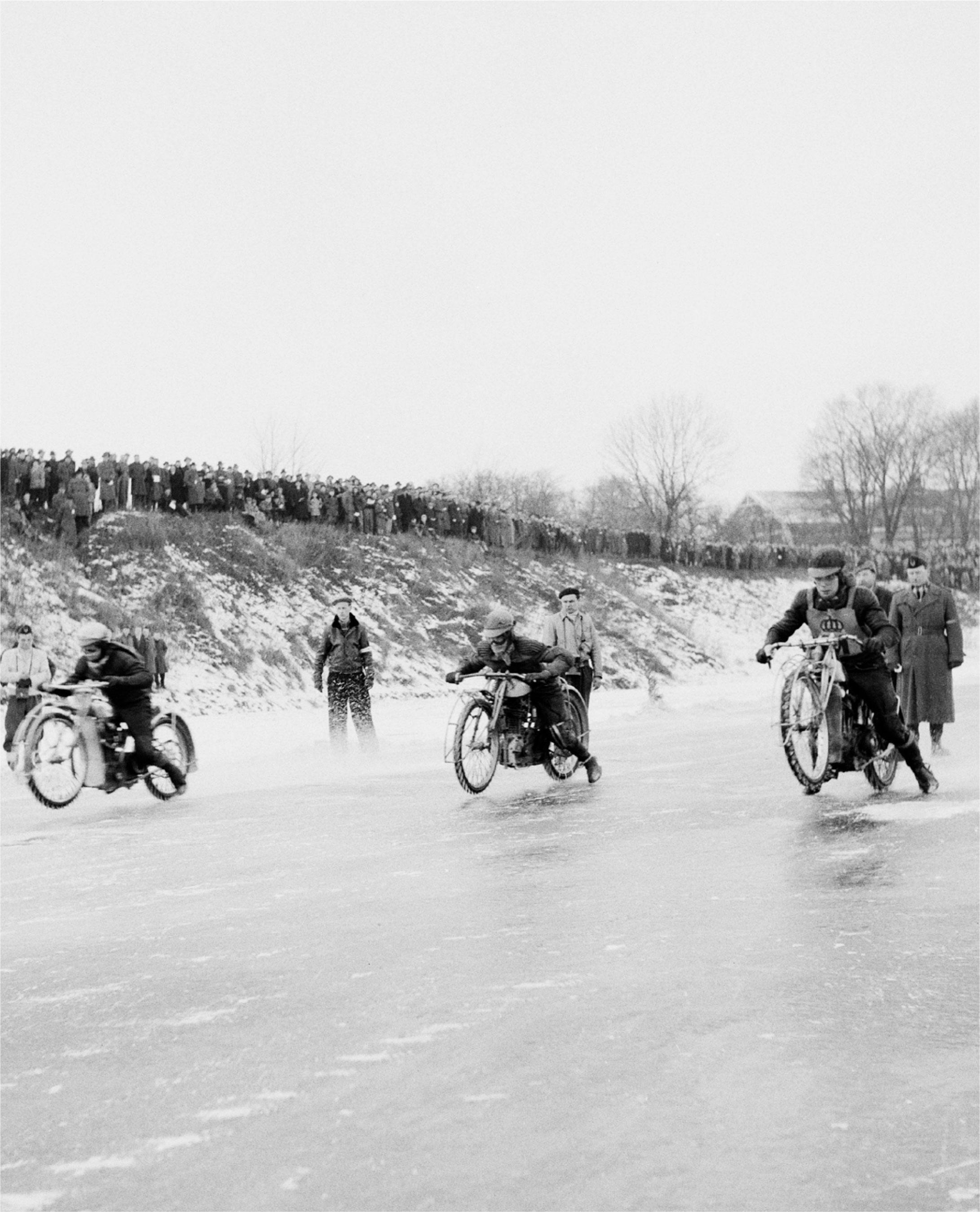 Isracing i Hålan, 1950-tal. Foto: ©Kulturmagasinet/Helsingborgs museer.