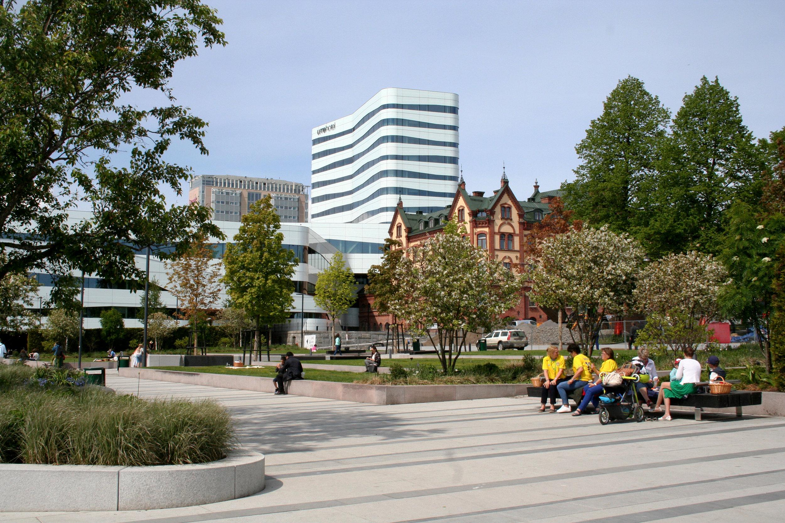I Umeå kommer 40 miljoner kronor i EU-medel att investeras för att universitetsområdet ska utvecklas till en så kalllad Smart City. Där teknik, marknad och konsumenter ska samverka för hållbara och smarta teknologier och lösningar. Fotograf Sara Stenberg