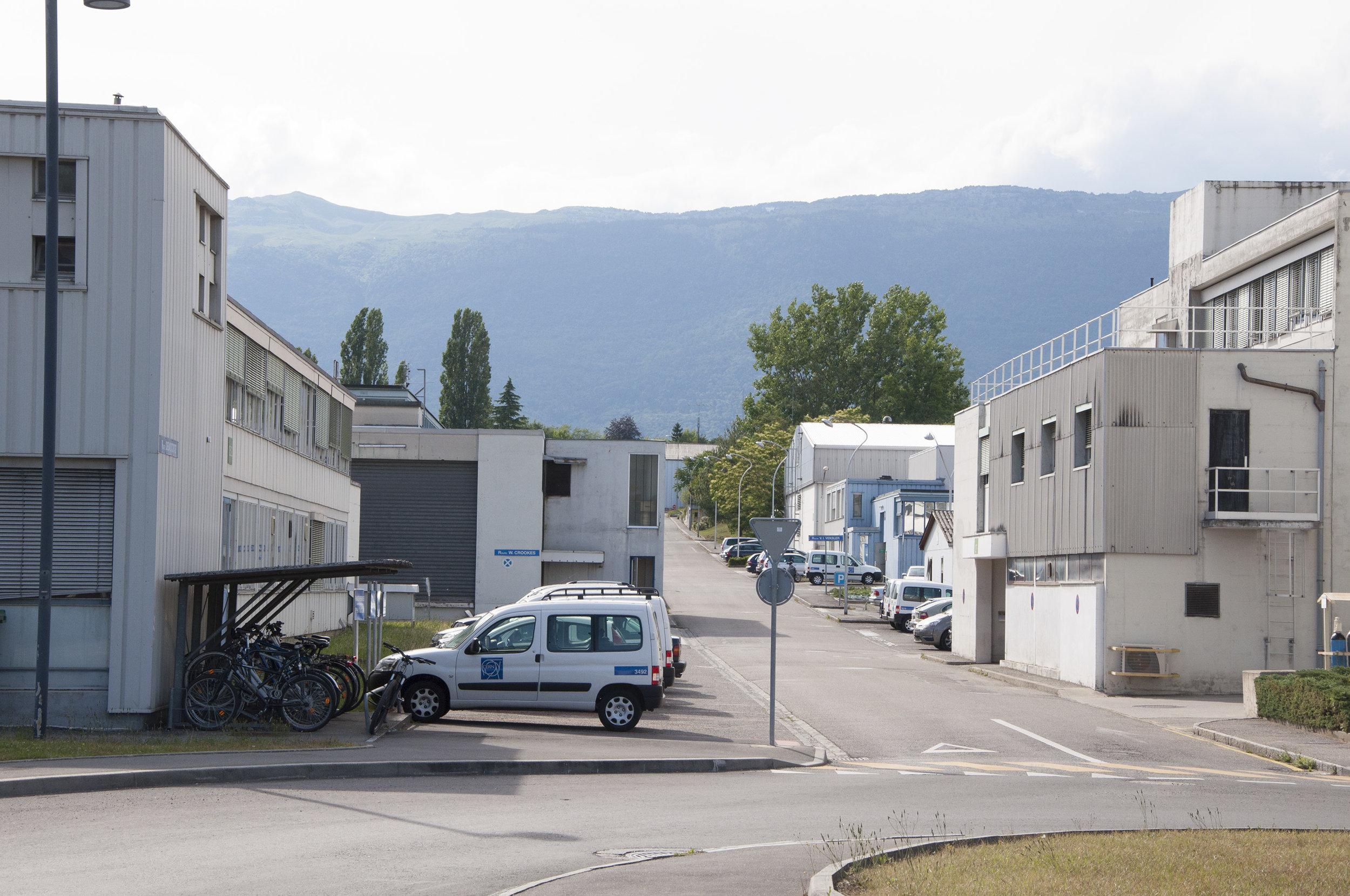 CERN, Schweiz. Partikelfysiklaboratoriet har vuxit organiskt sedan 1954. Foto: Sten Hellman