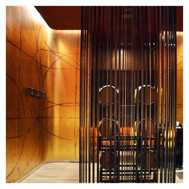 Graves 601 Hotel                         Minneapolis, MN     Doug Glovaski – Mapping the City (Marigold / Metallic Gold)