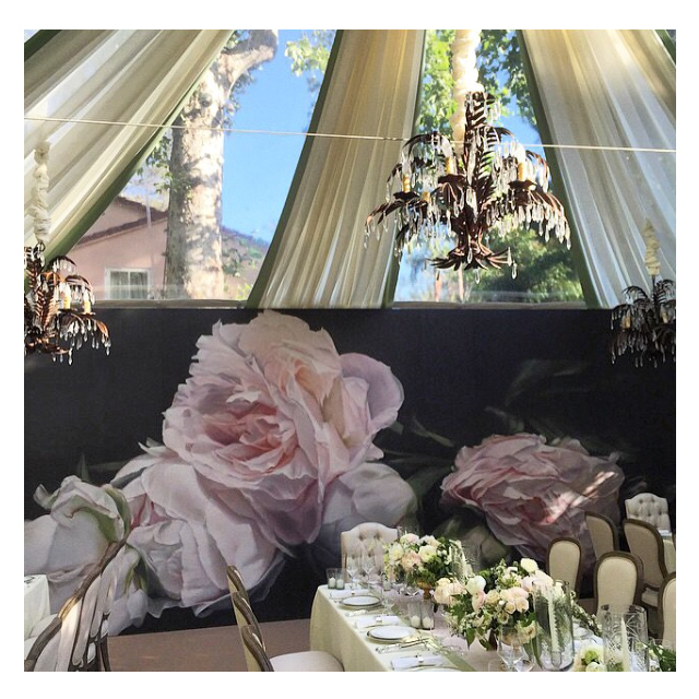 Billy Evers / Private Event                   Los Angeles, CA      Thomas Darnell –Peonies Pink