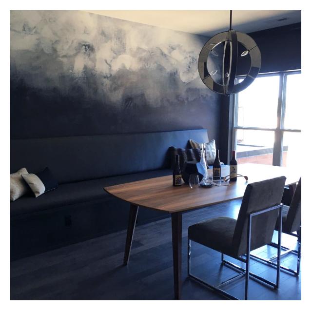 Luxe Interiors                               Coralville, IA     Karen Darling – Smoke on the Water