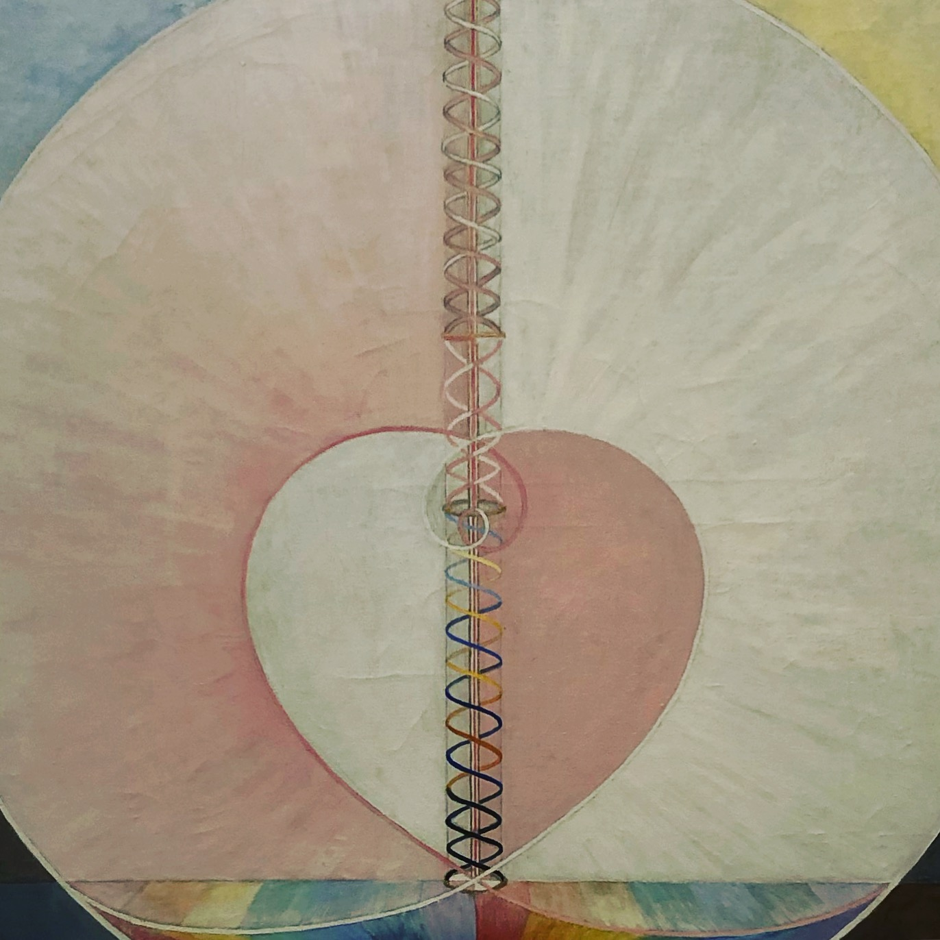 The Dove No 1 by Hilma af Klint