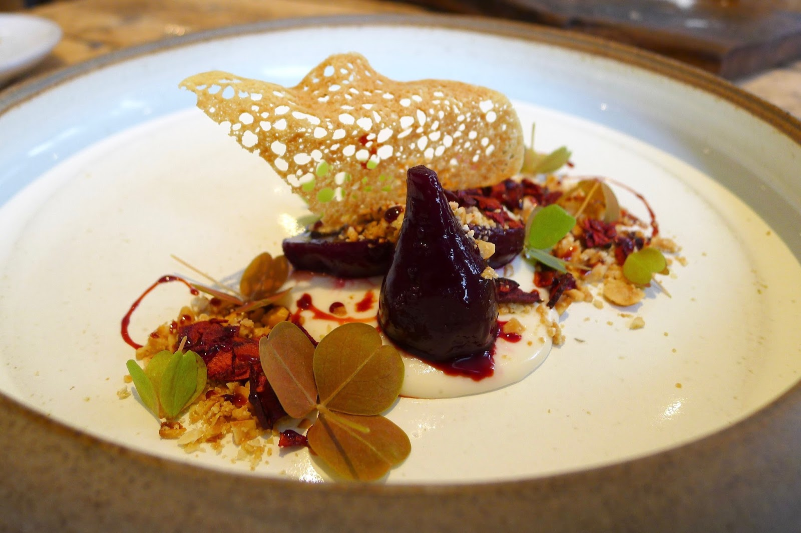 The Forest Side – Pablo Beetroot, Ragstone, Sourdough Crumpet, Hazelnut & Sunset Velvet.jpg