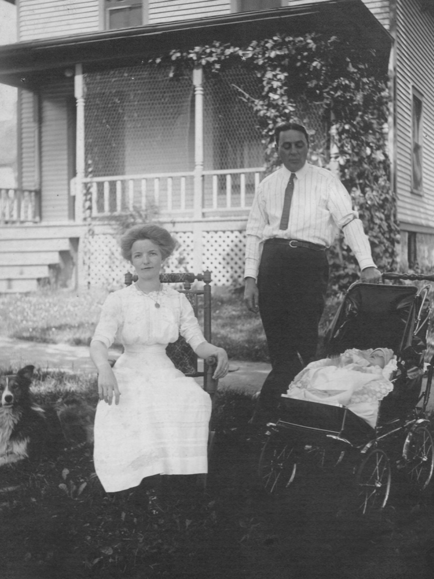 Philip & Elizabeth Gauss circa 1913