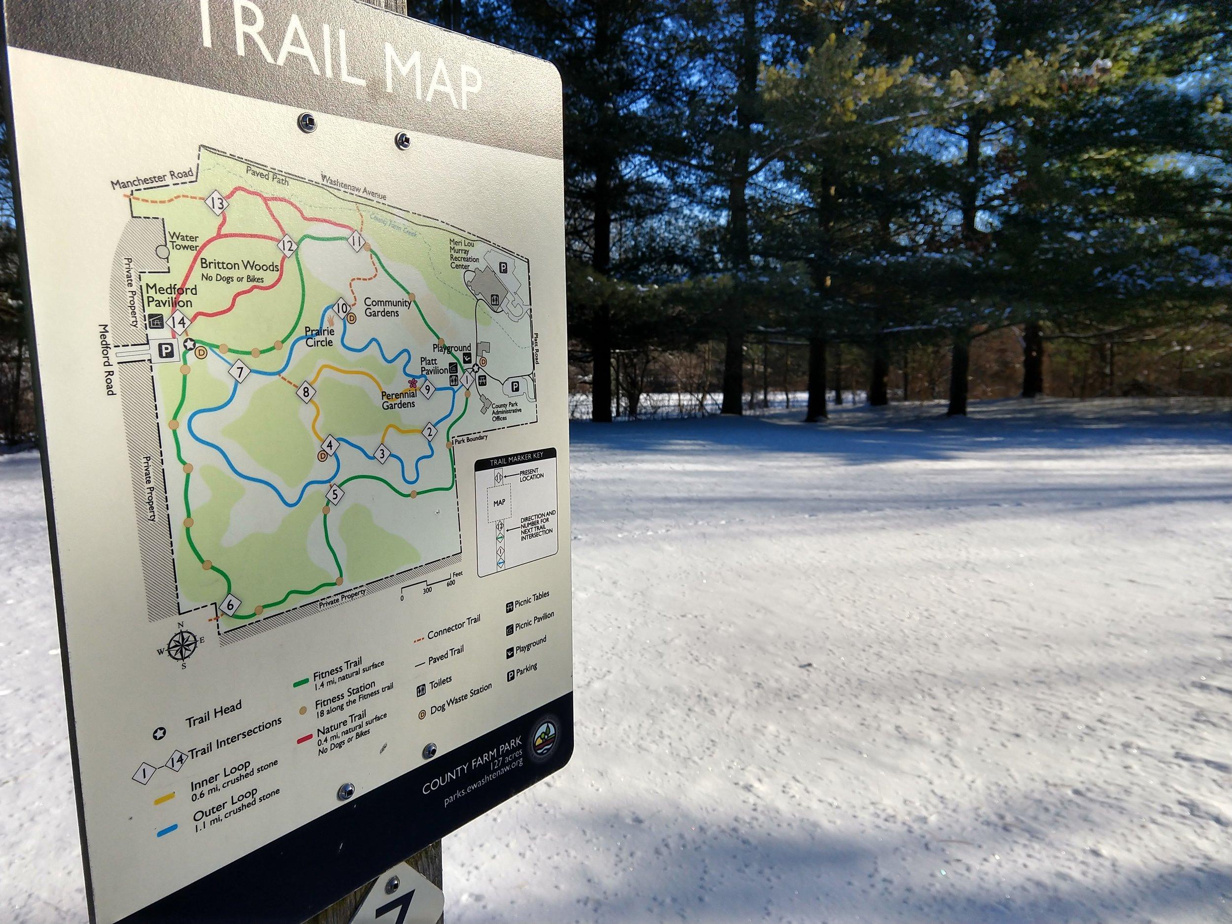 Trail Map sign County Farm Park.jpg