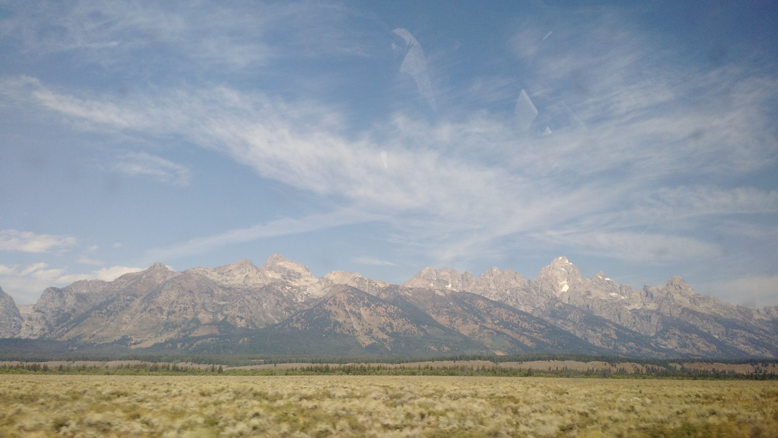 One of the many breathtaking views of Jackson Hole, WY