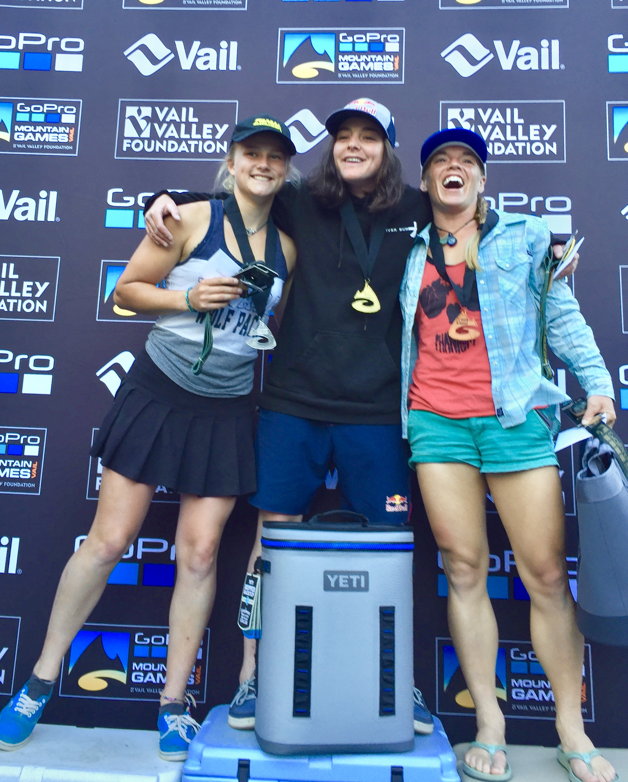 We've seen this podium before but every year we all get better looking.