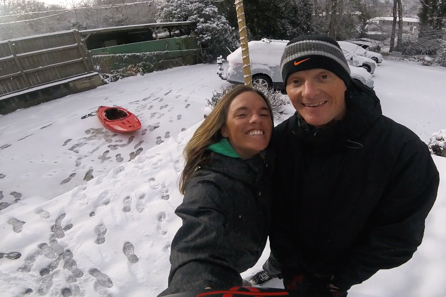 I got a few days of snow between Costa Rica and Uganda though!