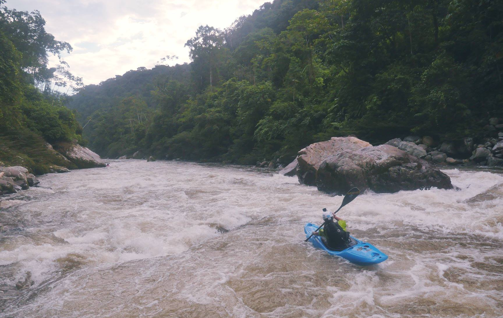 The big rapid on the Hollin, Waffle Maker  Photo by: Andrew Morrissey