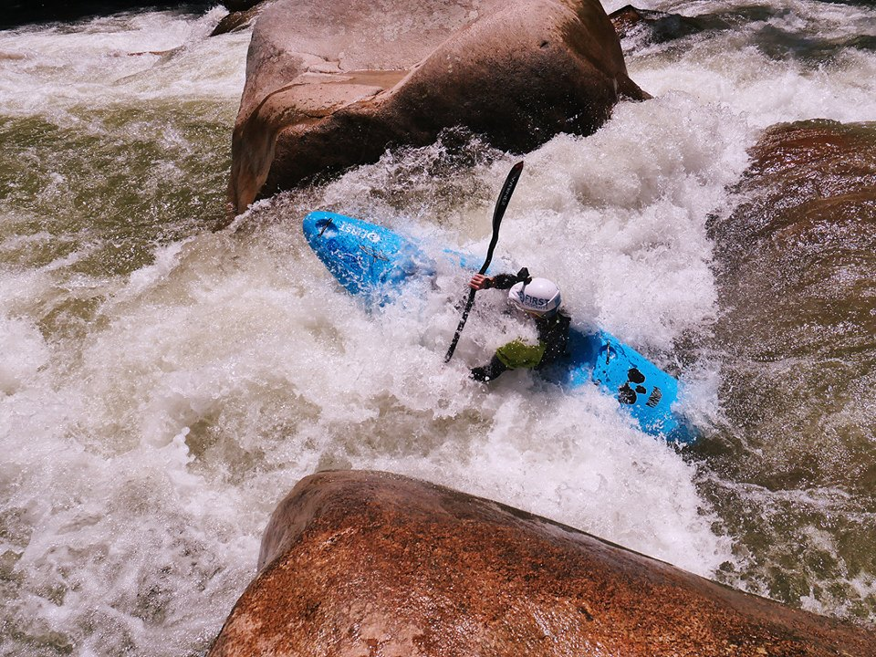 The Big Rapid on the Middle Jondachi  Photo by: Andrew Morrissey