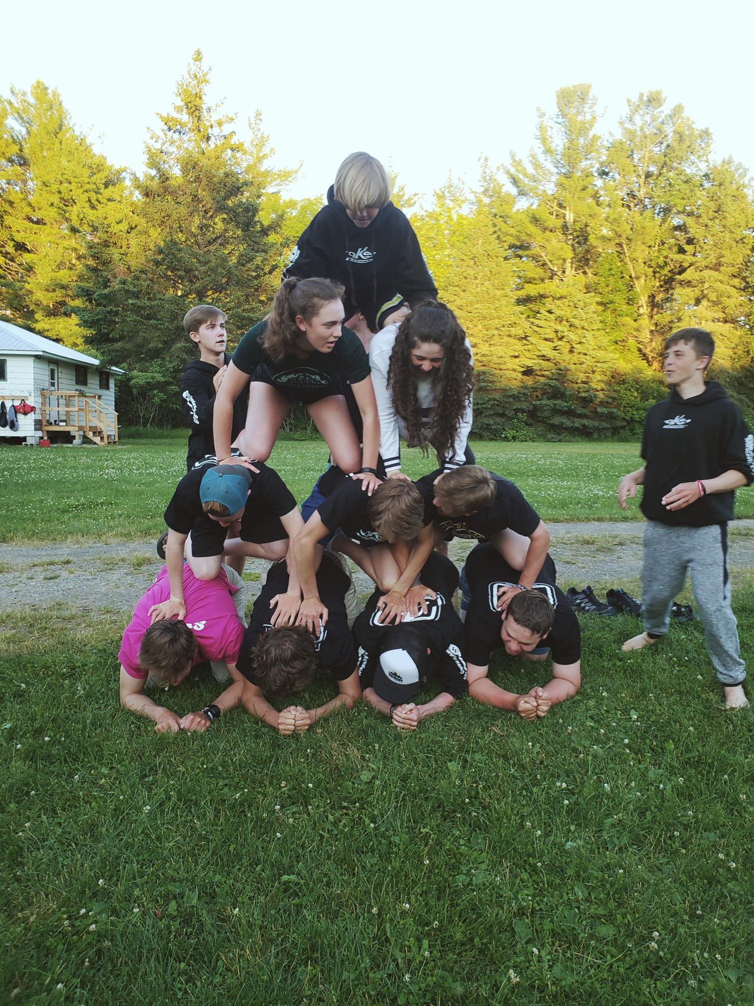 Just one of our team building experiences.