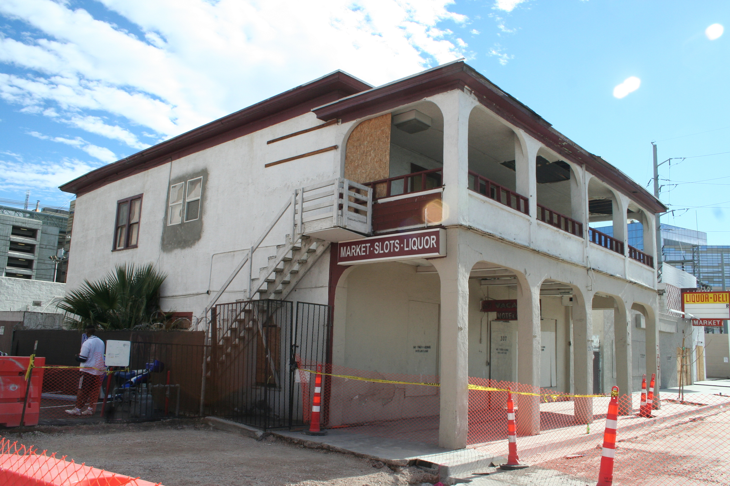 The Victory Hotel as it currently stands. Our intentions are to refurbish the historic facade.