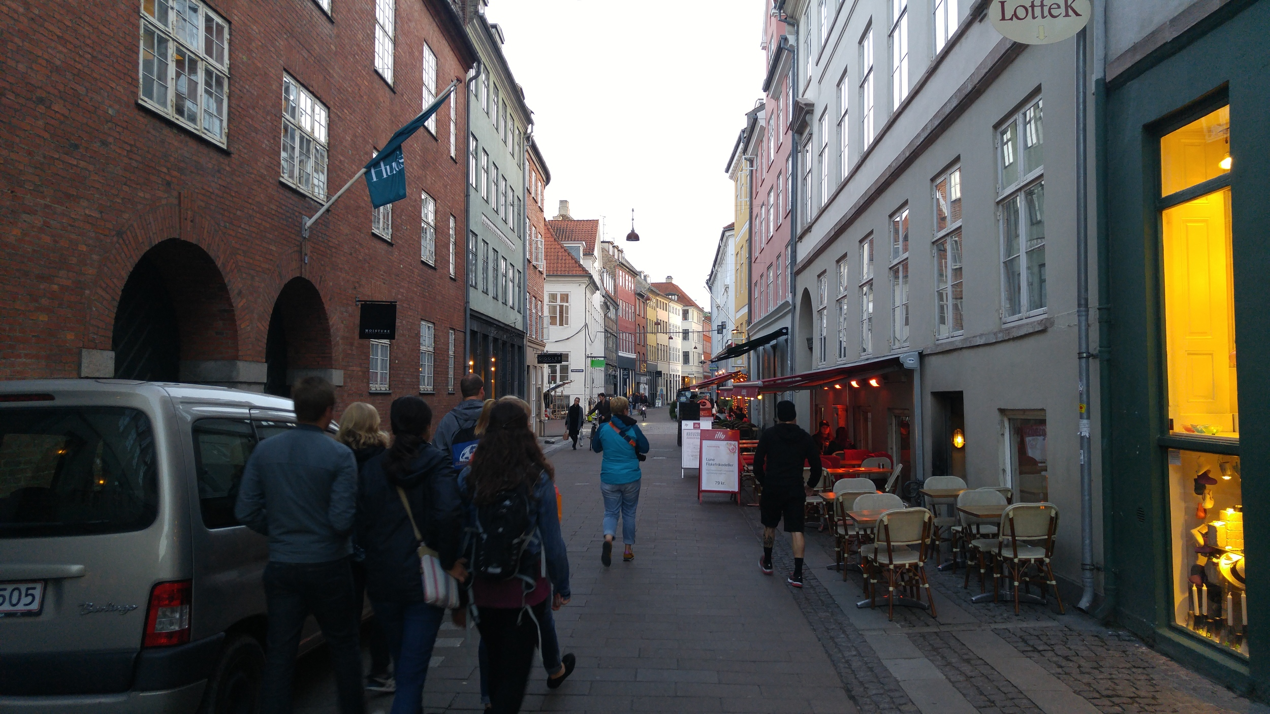 Strædet is a multi-use passage where there is something new around every bend.