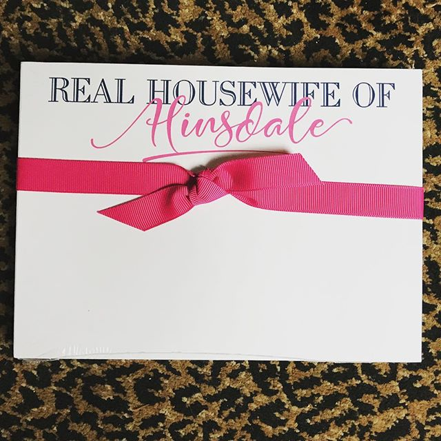 What would your tagline be?  Perfect gift to a friend or yourself! @bravoandy #realhousewivesofhinsdale . . . . . . #sassnclasshinsdale #hinsdalecentral #chicagoinvitations #shoplocal #perfectgift