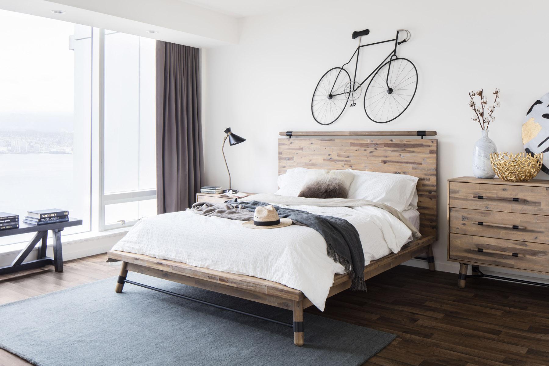 Simplictic bedroom with bike.jpg