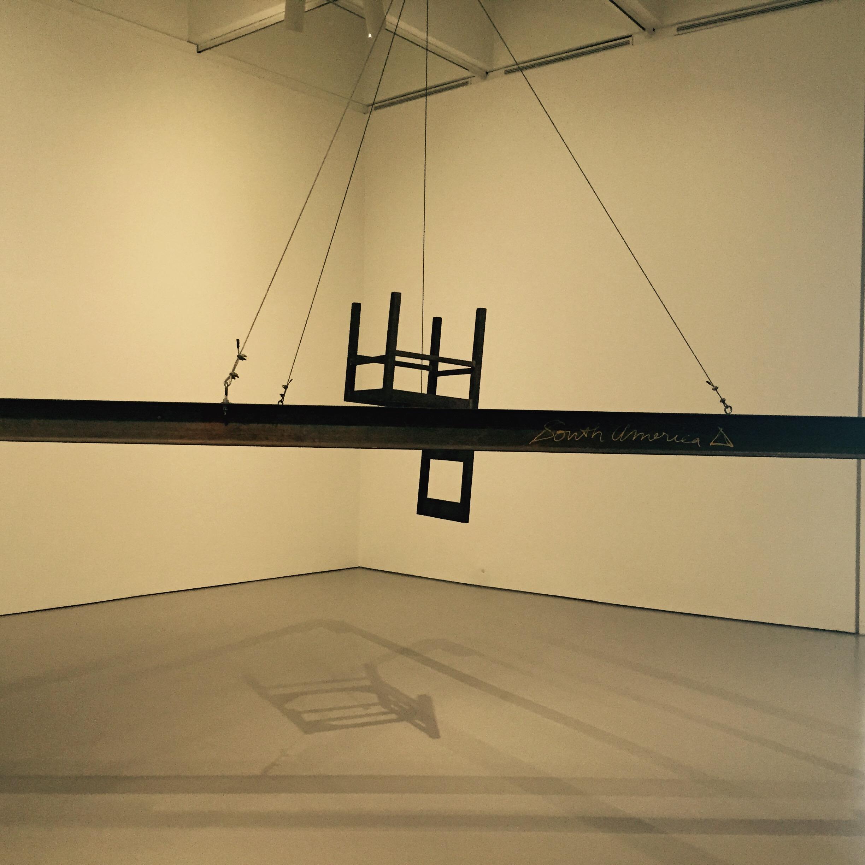 South America Triangle - Bruce Nauman