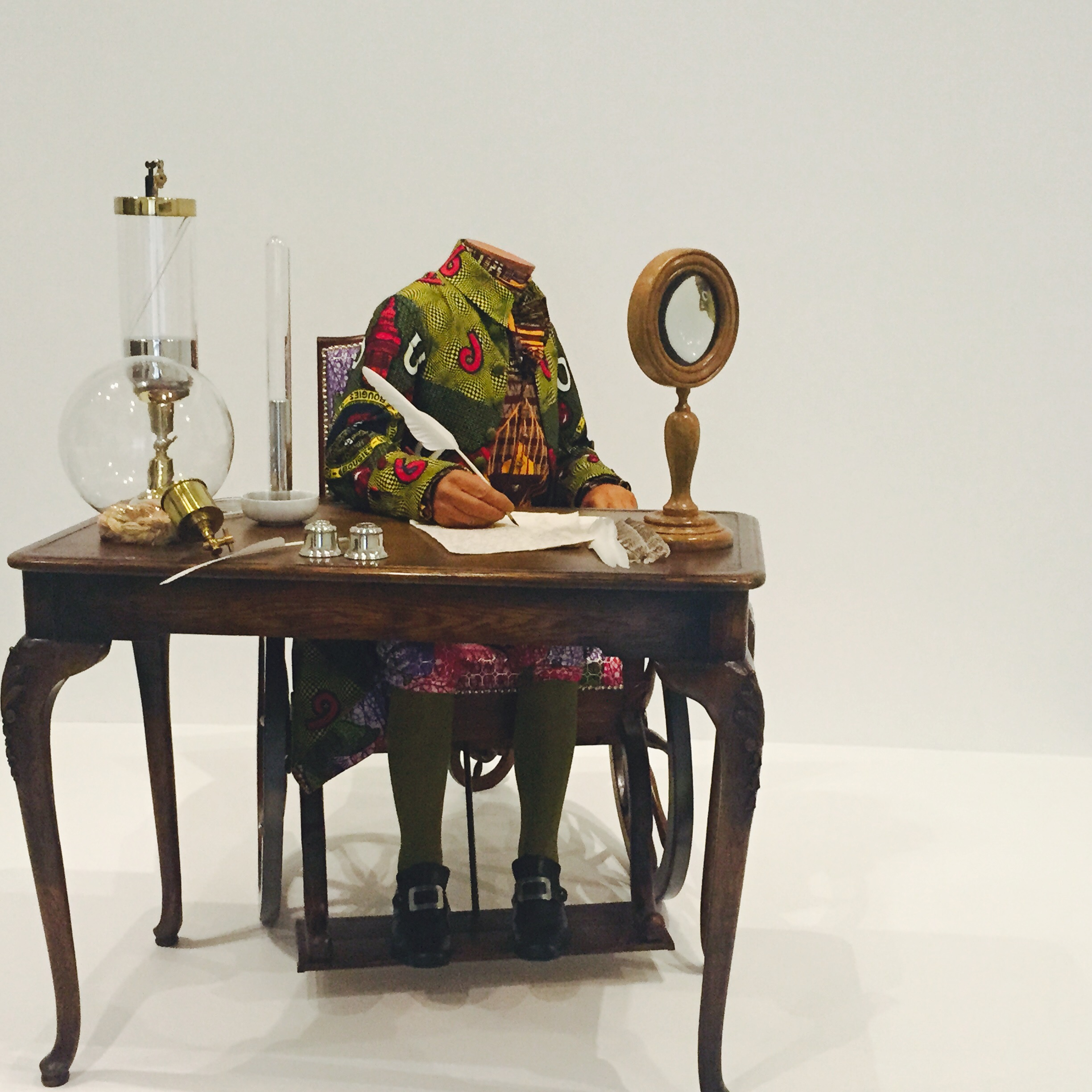 The Age of Englightenment--Antoine Lavoisier - Yinka Shonibare