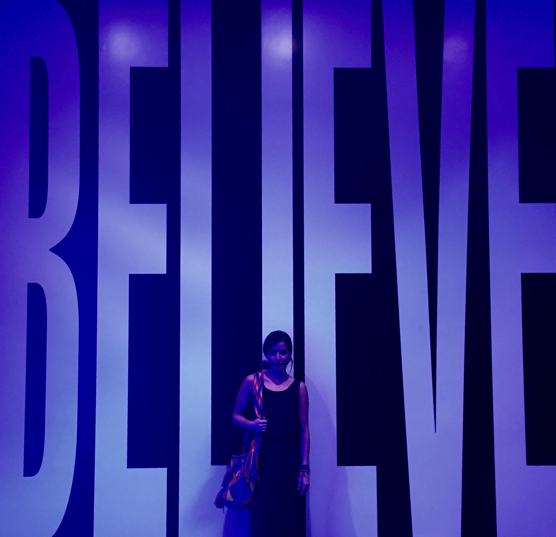 Belief and Doubt - Barbara Kruger