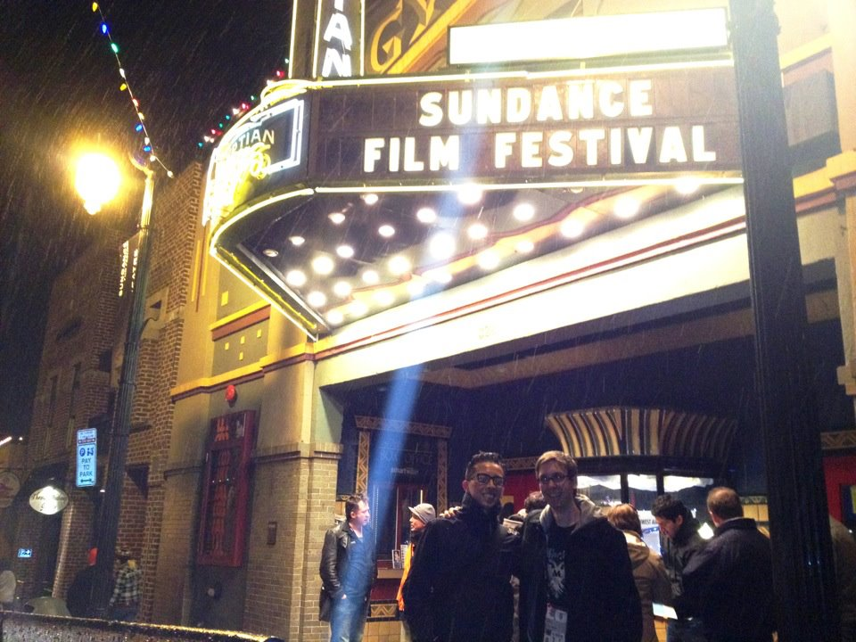 Me and Billy at Sundance 2012 for West of Memphis