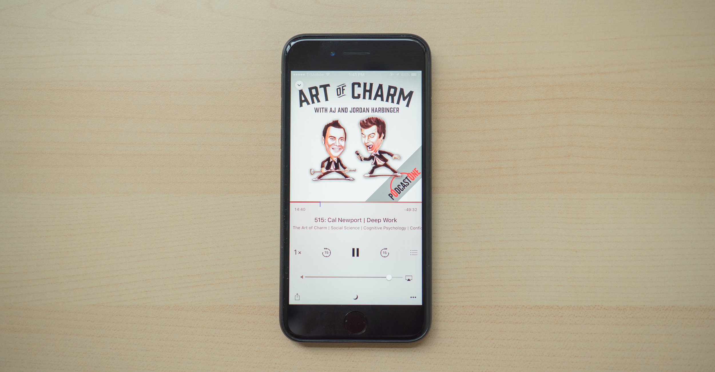 Enter Art of Charm podcasts