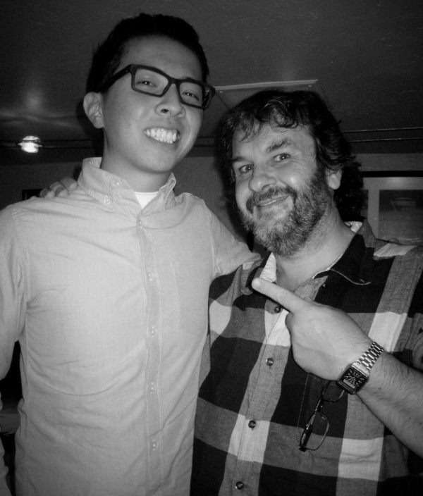 Me and Peter Jackson