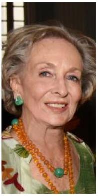 Baronne Bernard d'Anglejan-Chatillion (Founder & Chairman Emerita)