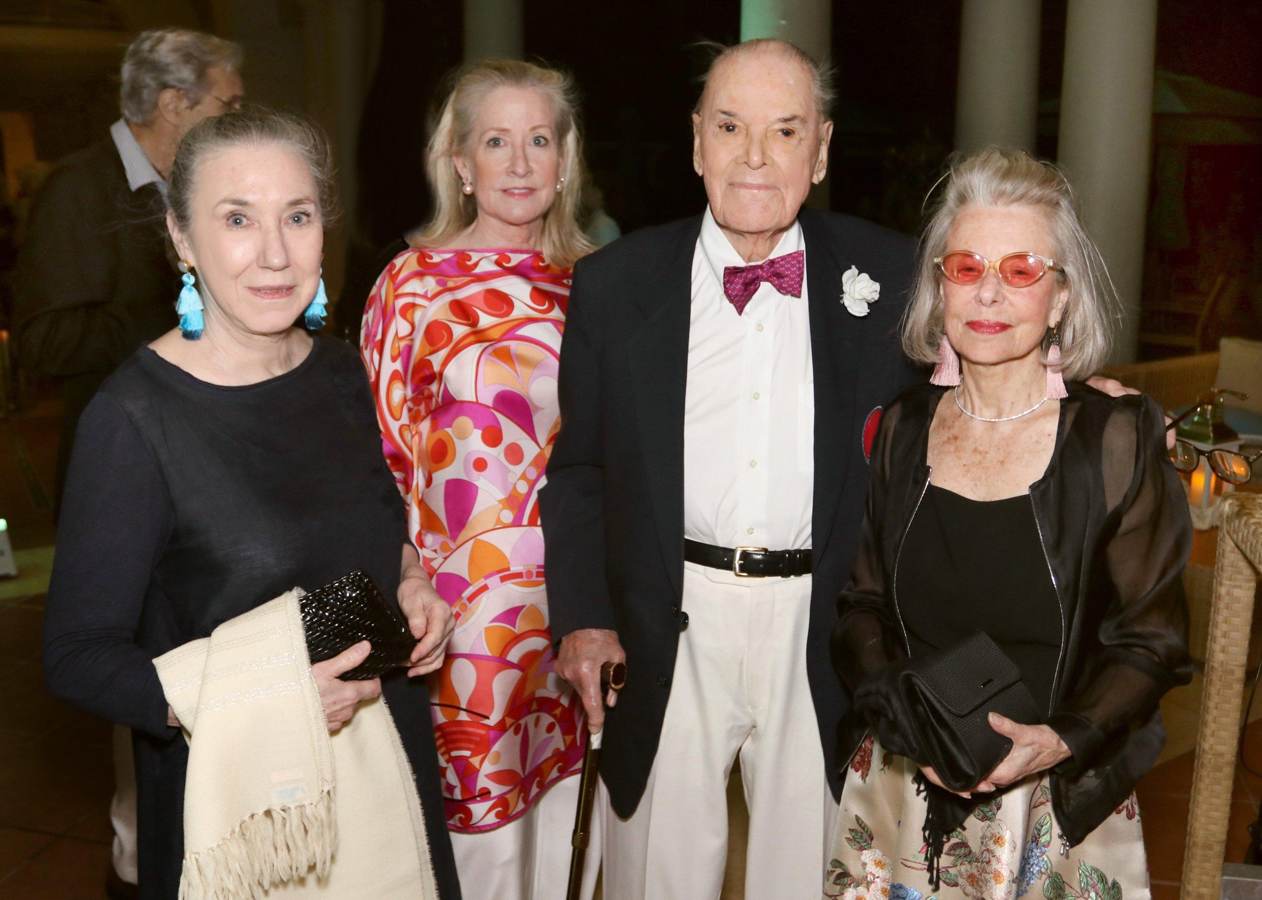 Joan Rosasco, Mia Glickman, Henry Darlington, Carla Darlington