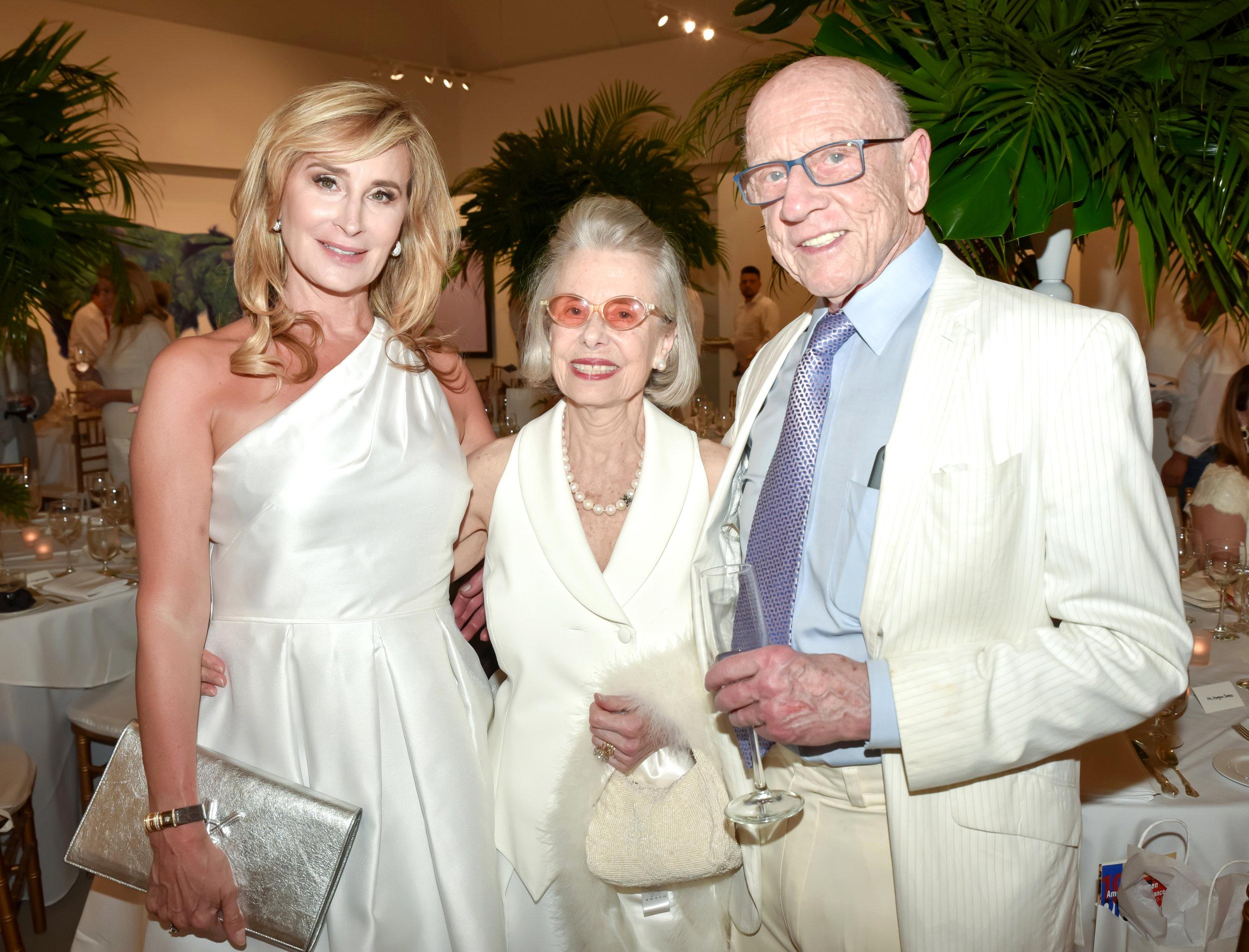 Sonja Tremont Morgan, Carla Darlington, Miles Morgan