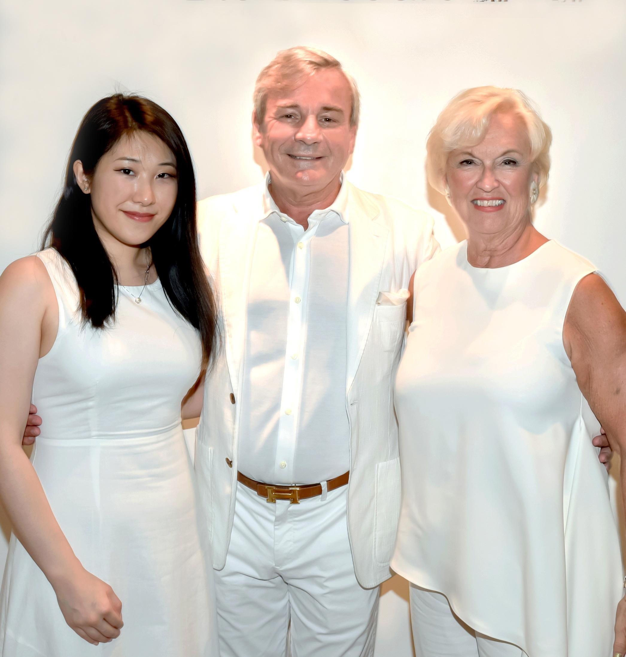 Selena Chen, Franck Laverdin, Elaine Uzan Leary