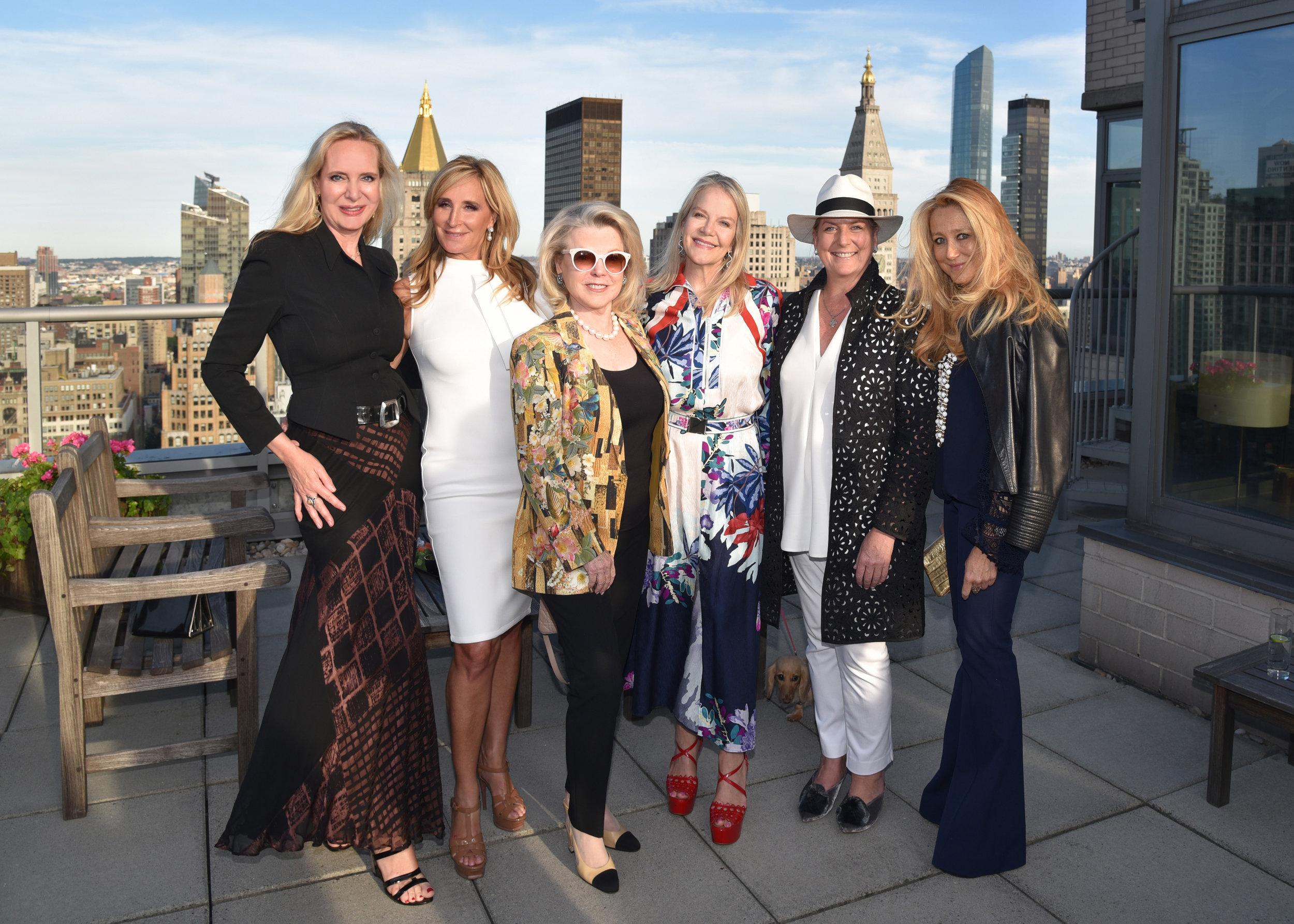 Marie-Claire Gladstone, Sonja Tremont Morgan, Jeanne Lawrence, Pamela Johananoff, Felicia Taylor, and Caroline Berthet