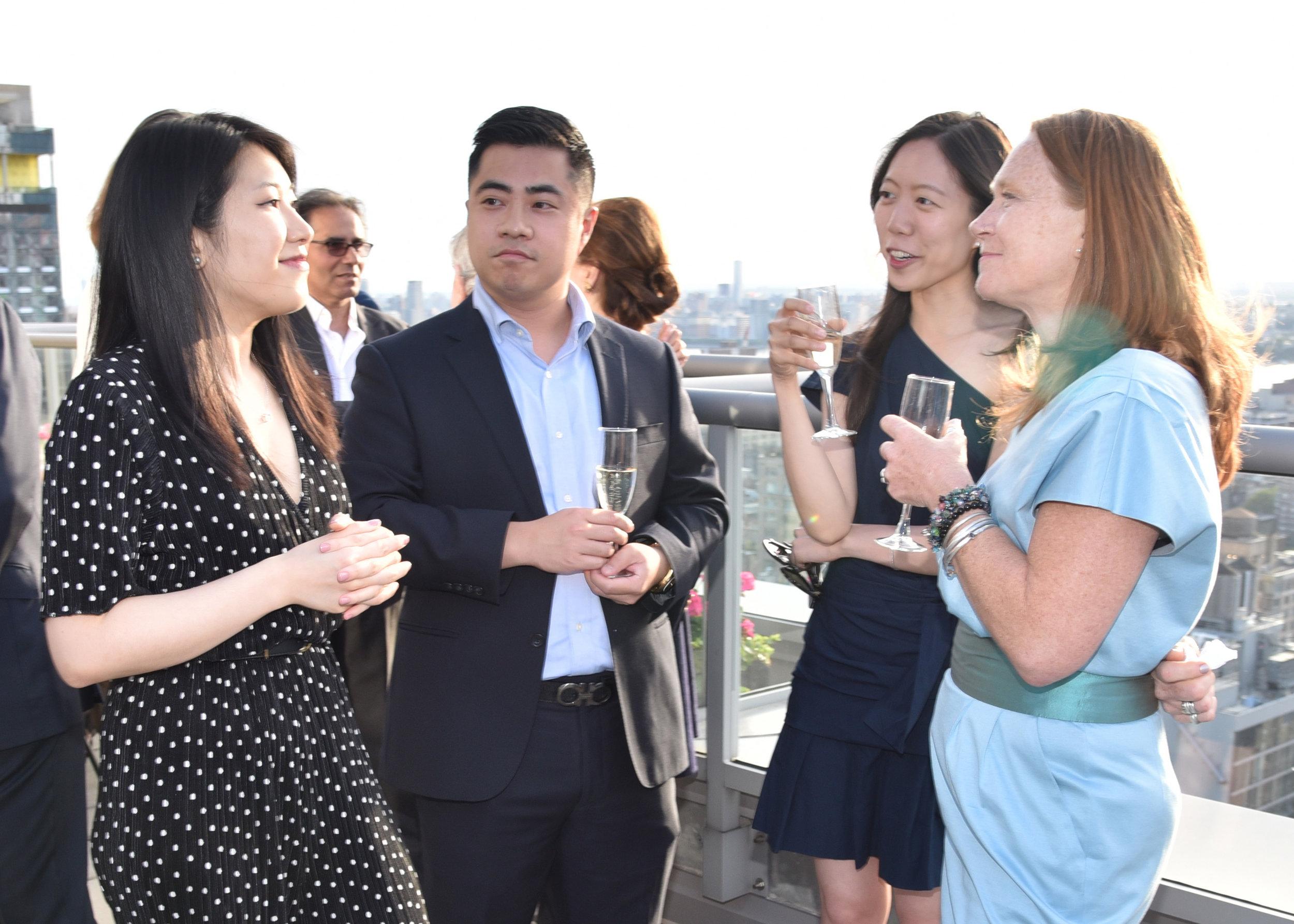 Selena Chen, Eric Tang, Elaine Chen, Jenny Taylor.